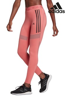 adidas 3 Stripe Mesh Leggings