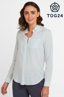 Tog 24 Mint Striped Wirral Womens Shirt