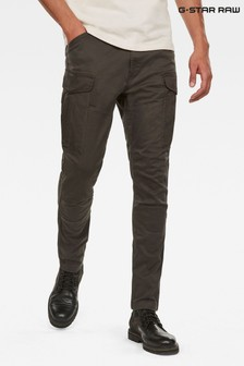 G-Star Green Rovic Slim Trousers