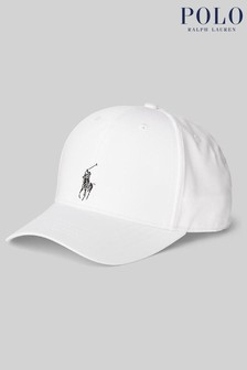 Ralph Lauren White Logo Cap
