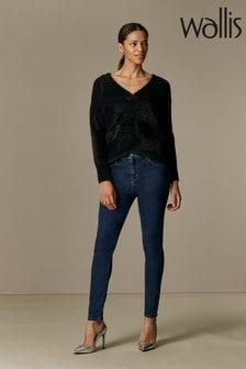 Wallis Indigo Skinny Jeans
