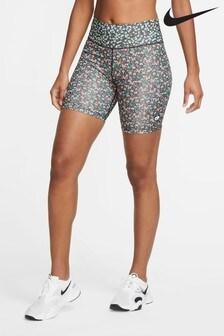 """Nike One Printed Femme 7"""" Shorts"""