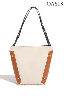 Oasis Natural Lucia Flatpack Bucket Bag