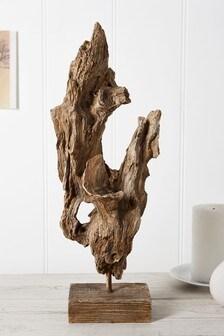Driftwood Effect Sculpture