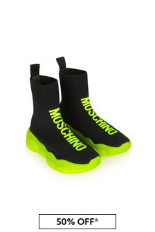 Moschino Kids Kids Black Trainers
