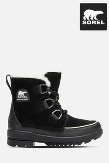 Sorel® Black Torino Lace Up Boots