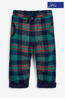 Joules Multi Check Joe Trousers