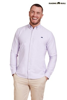 Raging Bull Purple Signature Oxford Shirt