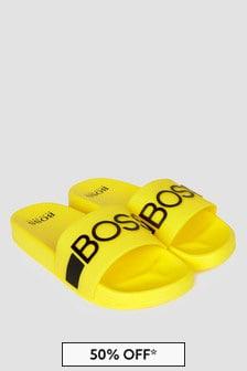 Boss Kidswear Boys Yellow Sandals
