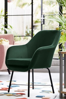 Dottie Accent Chair With Black Legs