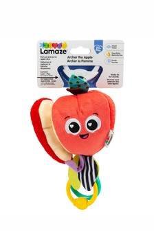 Lamaze Archer The Apple Clip n Go Baby Toy