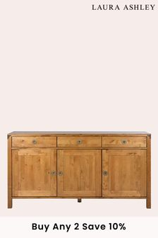 Balmoral Honey 3 Door 3 Drawer Sideboard by Laura Ashley