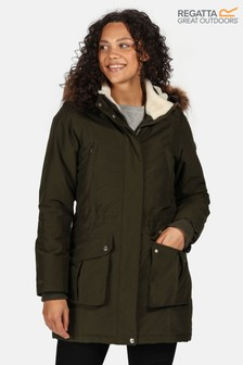 Regatta Green Sefarina Waterproof Jacket