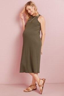 Maternity High Neck Dress