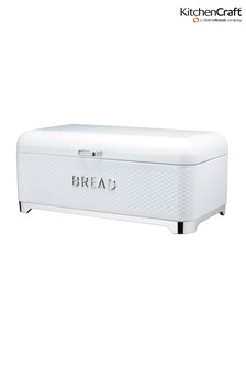 Kitchencraft Lovello White Bread Bin