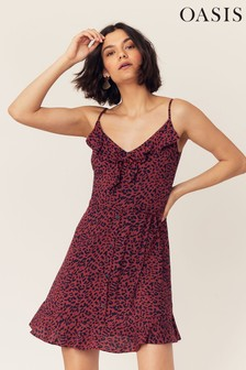 2a9936f0e713 Womens Red Animal Print Dresses   Leopard Print Dresses   Next UK