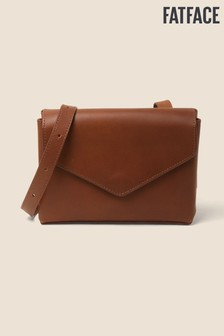 FatFace Brown Ettie Envelope Cross Body Bag