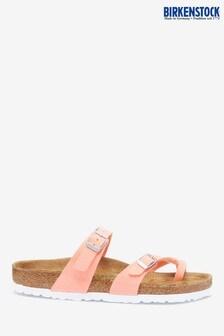 Birkenstock® Pink Fluro Cross Toe Sandals