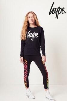 Hype. Zebra Panel Leggings