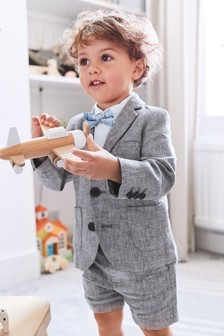 Blazer, Shirt & Short Set (3mths-7yrs)