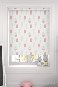 Lolly Sorbet Pink Made To Measure Roller Blind