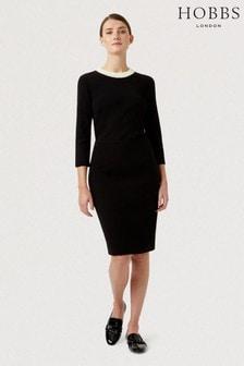 Hobbs Black Petite Alva Skirt