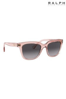 Ralph by Ralph Lauren Pink Transparent Sunglasses