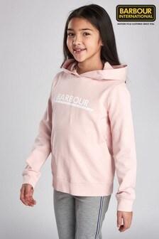 Barbour® International Pink Apex Hoody