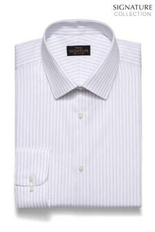 Regular Fit Stripe Signature Shirt