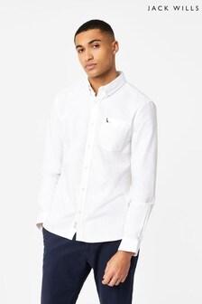 Jack Wills White Wadsworth Oxford Shirt