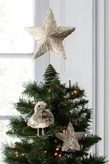 Gold Foil Robin Ornament