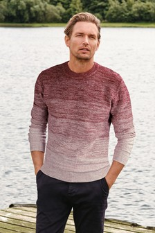 Ombre Colourblock Jumper