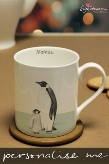 Personalised Penguin Mug by Signature Gifts