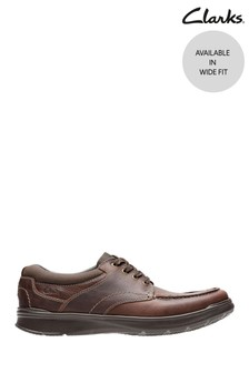 Clarks Brown Oily Cotrell Edge Shoes