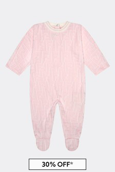 Fendi Kids Girls Babygrow