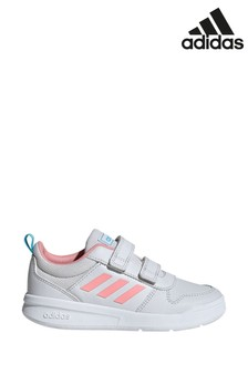 adidas Grey/Pink Tensaur Junior And Youth Trainers