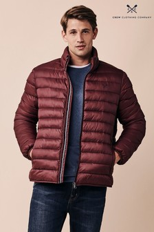 Crew Clothing Company Red Lightweight Jacket
