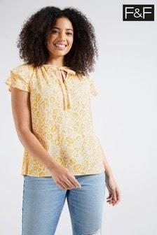 F&F Yellow Top