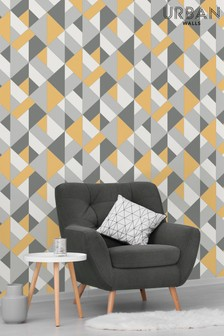 Urban Walls Structured Geo Wallpaper by Urban Walls