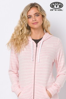 Animal Pink Changing Tides Zip Through Hoody