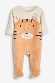 Tiger Dress Up Fleece Sleepsuit (0mths-3yrs)