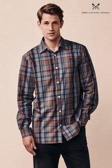 Crew Clothing Company Blue Ashworth Classic Shirt