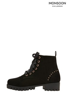 Monsoon Elsie Chunky Lace-Up Boots