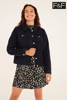 F&F Black Denim Jacket
