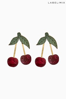 Mix/Wolf & Moon Cherry Earrings