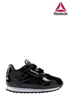 Reebok Black Print Jogger Infant Trainers