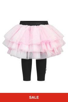 Balmain Baby Girls Pink Skirt