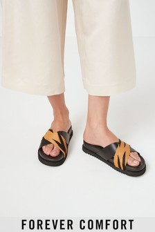 Signature Forever Comfort® Cross Over Mule Sandals