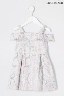River Island Multi Occasion Jacquard Dress