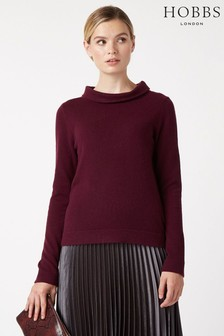 Hobbs Purple Audrey Sweater